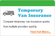Temporary Van Insurance