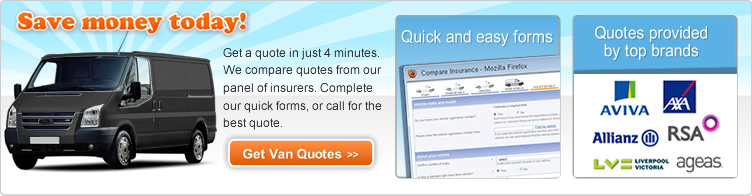 Get Cheap Fleet Van Insurance Quotes
