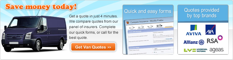 Compare Van Insurance Online Quotes Today
