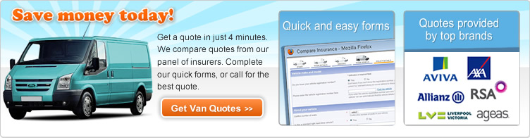Find a Cheap Private Van Insurance Quote