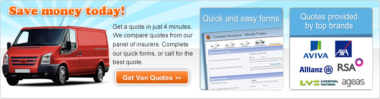 We Compare Van Insurance Quotes