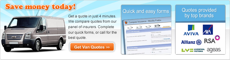 Find Cheaper Van Insurance Under 25 Quotes