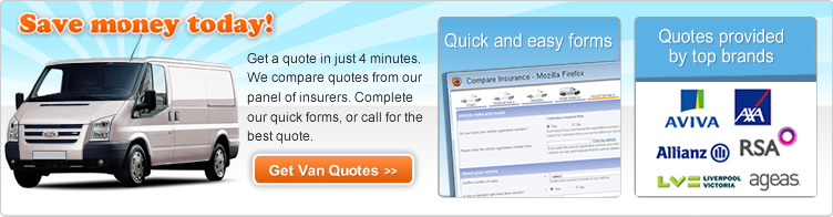 The Dedicated Van Insurance Comparison Site